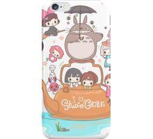 love it ghibli studio iPhone Case/Skin