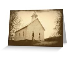 Cades Cove Methodist Church I Greeting Card