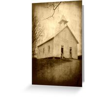 Cades Cove Methodist Church II Greeting Card