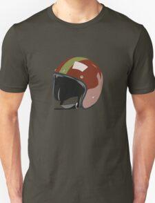 Red retro helmet T-Shirt