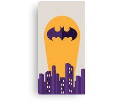 Marvel batman gotham city Canvas Print
