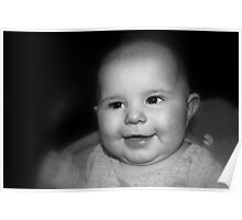 Smiling Baby Poster