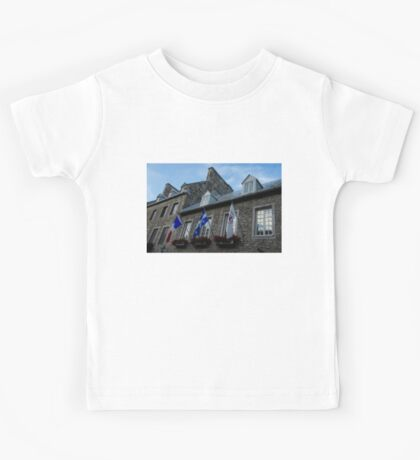 Old Stone Houses in Quebec City, Canada  Kids Tee