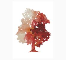 Abstract tree watercolor poster T-Shirt