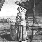 Aunt Mary and Baby by Kay Kempton Raade