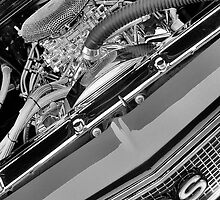 68 Chevelle Engine View by Mark Bolen