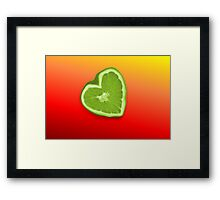 Bitter Heart Framed Print