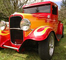 Flamin 32 ford by Brandon Taylor