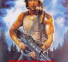 Rambo: First Blood - Promotional Poster by frictionqt