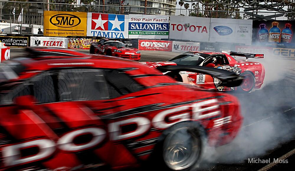 Long Beach Grand Prix Drifting Demonstration by Michael  Moss