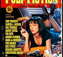 Pulp Fiction - Promotional Poster by frictionqt