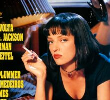 Pulp Fiction - Promotional Poster Sticker
