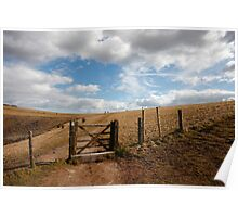Walking the South Downs Poster