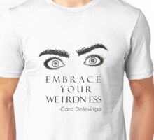 Cara Delevinge Unisex T-Shirt