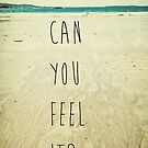 Can You Feel It? by Denise Abé