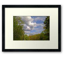 Beautiful Sky Framed Print