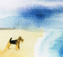 Airedale Terrier by archyscottie