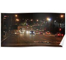 Hermosa Beach Traffic 1283 Poster