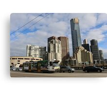 Melbourne City Skies Canvas Print