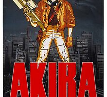 Akira - Promotional Poster by frictionqt