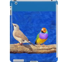 Finches are fun!  iPad Case/Skin