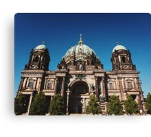 Berliner Dom Canvas Print