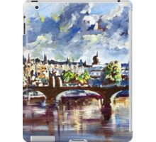 Prague in springtime iPad Case/Skin