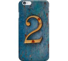 Lucky Number 2 iPhone Case/Skin