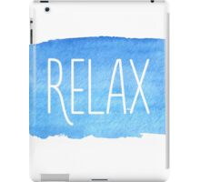 Watercolor Relax iPad Case/Skin