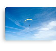 Lonely in the sky Canvas Print