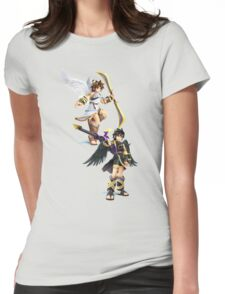 Pit and Dark Pit Womens Fitted T-Shirt