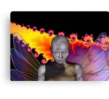 CRACKED ANGEL Canvas Print