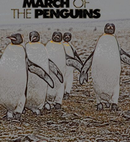 March of the Penguins Sticker