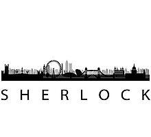 Shelock-London Photographic Print