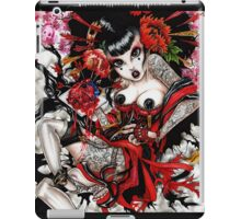 bleeding heart geisha iPad Case/Skin