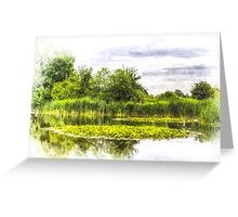 The Lily Pond Art Greeting Card
