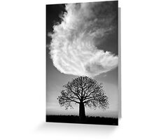 Sky Tree Greeting Card
