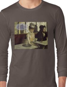 most boring date ever Long Sleeve T-Shirt