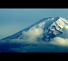 Mount Fuji - As Seen From Lake Kawaguchi by Totosan