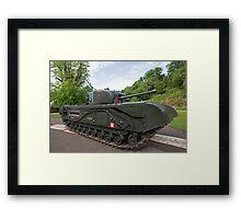 Churchill tank ,The Tank, Infantry, Mk IV (A22) was a British heavy infantry tank Framed Print