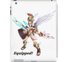 Pit - Equipped! iPad Case/Skin