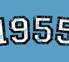 Year 1955 Vintage Birthday by theshirtshops
