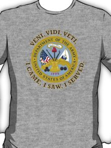 US Army VVV Shield T-Shirt