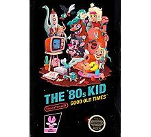 THE 80s KID Photographic Print