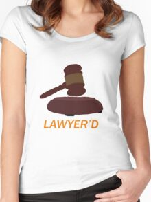Lawyer'd by Marshall - HIMYM Women's Fitted Scoop T-Shirt