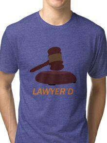 Lawyer'd by Marshall - HIMYM Tri-blend T-Shirt