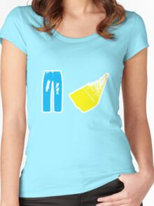Gene Parmesan - Arrested Development Women's Fitted Scoop T-Shirt