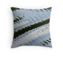 Post Boat Throw Pillow