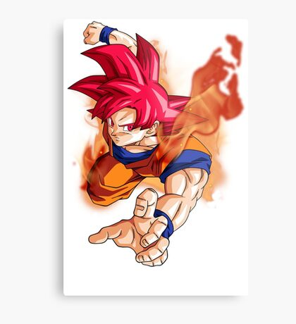 Saiyan  'The Super' Metal Print