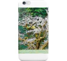 Magnificence In Moss iPhone Case/Skin